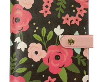 Black Blossom Carpe Diem Personal Planner Boxed (IN STOCK) Free Washi Tape with this order (7950)