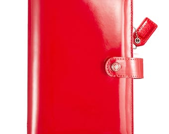 Patent Red Webster's Pages Color Crush Personal Binder (WPCP001-PTR)