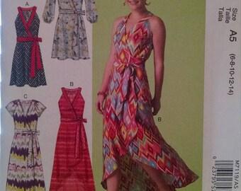 McCall's m7119 new uncut dress pattern