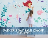 Fathers Day Sale - Under the Sea Wall Decal Collection