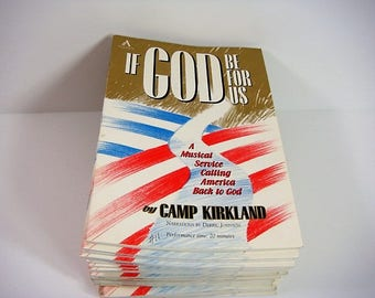 If God Be For Us by Camp Kirkland 37 Copies of Choir Production Music If God Be For Us
