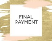 Final Card Payment - Katie