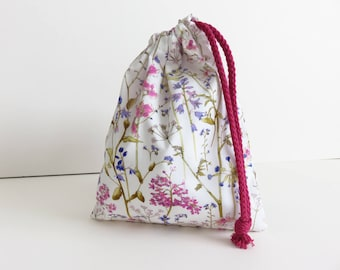 Liberty Lawn 'Theodora B' Small Drawstring Bag