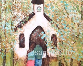 CANVAS PRINT- Going To The Chapel