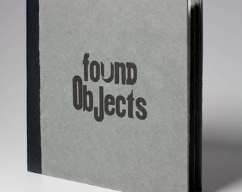 Found Objects - Handmade Book - Hardback