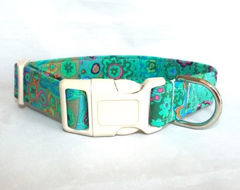 Summer Meadow Jade Collar for Your Pup