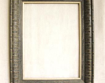 Vintage Mid-Century Wooden Picture Frame, Black Wood, 12 x 16, Wall Decor, Art Supplies, Studio, Framing, Vertical, Horizontal, Retro
