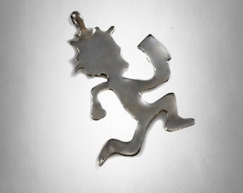 New Sterling Silver 925 hatchetman juggalo