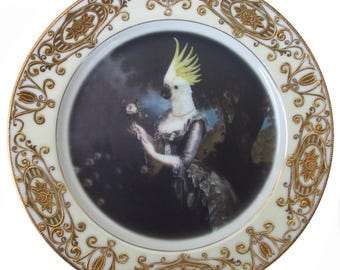 "Nymphicus, Royal Mistress of Hollandicus Plate 7.65"""