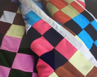 Heavy Colorful Quilt