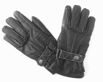 Horseback Riding Gloves - Equestrian Gloves - Winter Gloves Women - Womens Gloves - Leather Gloves - Womans Gloves - Ladies Gloves - Size M