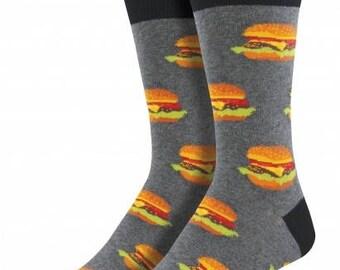 Mens Good Burger Socks