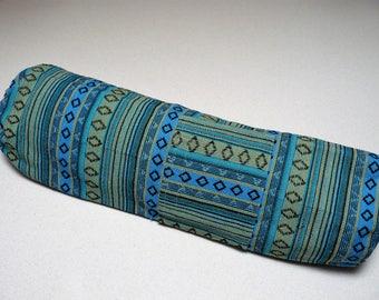 NEW XL Yoga Bag - Exercise mat bag - sea green blue with Large pocket