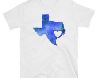 Heart of Texas T-shirt , Hurricane Harvey - ALL PROCEEDS donated to help those displaced by the hurricane - Tee shirt - Proverbs 3:27