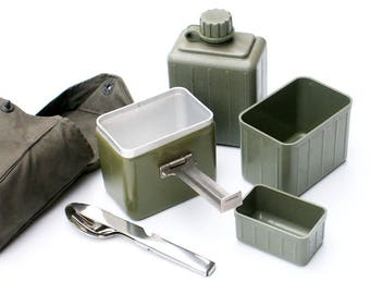 Military Mess Kit Serbian Army Surplus Camping Chow Set