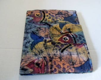 Fish Batik iPad Cover