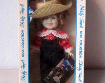 Vintage Shirley Temple Rebecca of Sunnybrook Farm Doll