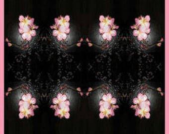 digital photoprint 'Blossom'