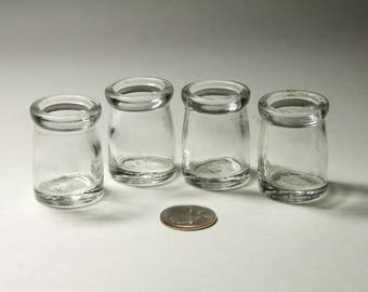 Vintage Glass Creamers by Hazel Atlas - circa 1940's