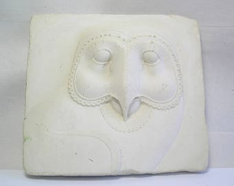 A Vintage Cast Plaster Museum Replica of Classic Owl Z36
