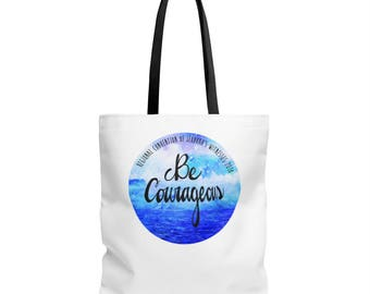 Sea Valiente Be Courageous Regional Convention Of JehovahS Witnesses Tote Bag In Spanish Or English