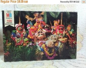 20% SALE 1980 Muppets Puzzle Jim Henson Milton Bradley 100 piece Incomplete