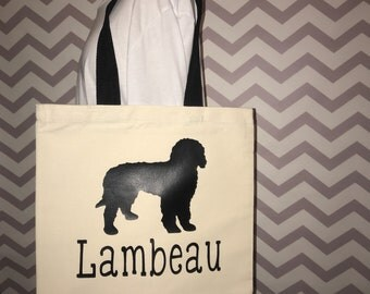 Doggie bag dog overnight bag doggie tote dog daycare tote