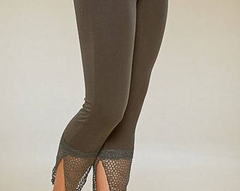 BIG SUMMER SALE 25% Off Leggings - Pixie Pointy Tights - burning man - women clothing