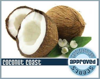 4 pk VARIETY of 1 oz COCONUT Fragrance Oils - SoAp SaFe - See Detailed Descriptions