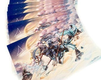 Zodiac Postcard - Capricorn