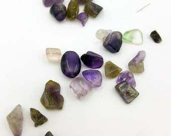 Amethyst Chip Beads, Purple Beads, Natural Gemstone Beads, Chip Beads, Beads for Jewelry Making, Nugget Beads, Amethyst Bead, Amethyst