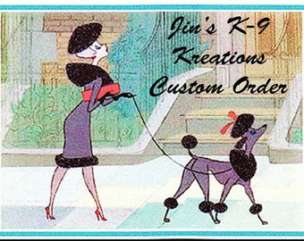 Custom listing for Sandra Coleman
