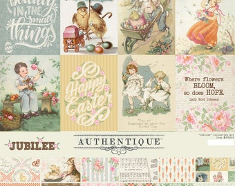 Authentique Jubilee 12 x 12 Easter Collection Kit