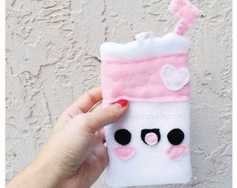 ON SALE - Milk Phone Case - Samsung Galaxy or iPhone Case, Smartphone Cozy, Phone Case, Kawaii