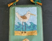 Sea Bird Punchneedle Embroidery Pattern
