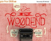 80% OFF Digital Font Woodend - Digital Typeface - Retro font - Instant Download - with swashes and alternates
