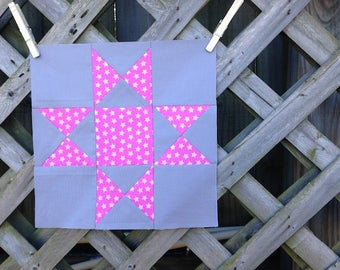 2-for-1 Star Quilt Blocks! Ohio Star and Spinning Quilt Block Patterns for Beginners: Instant Download PDF Quilt Block Tutorials