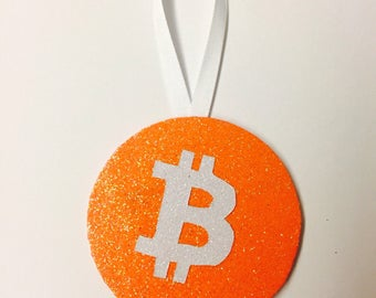 Bitcoin Ornament