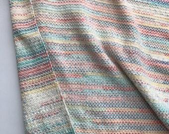 Hand Knit Baby Stroller Blanket