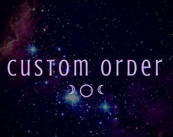 Custom Deposit   Mini Raven's Eye Necklaces for Octopodes