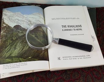 The Himalayas by Takehide Kazami Vintage 1979 Softcover Guide Book