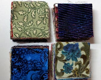 """On Sale Fabric Charm Pack 200 Fabric Squares 2 1/2"""" Inch Squares Craft Supplies Sewing Supplies Quilting Supplies"""
