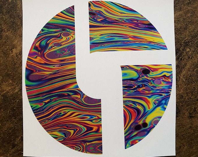 The Disco Biscuits Custom Vinyl Graphic Sticker Decal Jam Band Stickers Hulaween Music Festival Gear