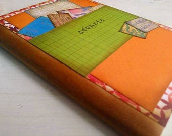 Secrets Slim Journal Art Journal Keepsake Unlined Pages
