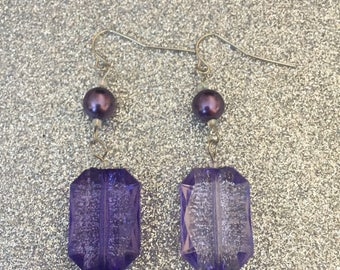 Purple Delight Earrings