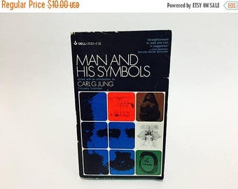 SUMMER BLOWOUT Vintage Psychology Book Man and His Symbols Edited by Carl Jung 1968 Paperback