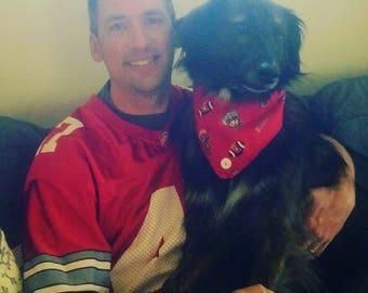 Ohio State Buckeyes Dog Bandana