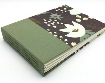 Fun Floral Photo Album - multiple sizes available