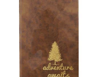Leather Journal-Adventure Awaits 31659