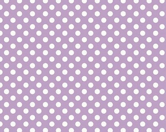 SALE 10% Off - Small Dot LAVENDER  (C350-120) -  Riley Blake Designs - By the Yard